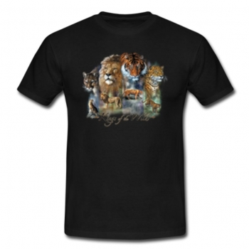 Exotic Animal Collage Tee