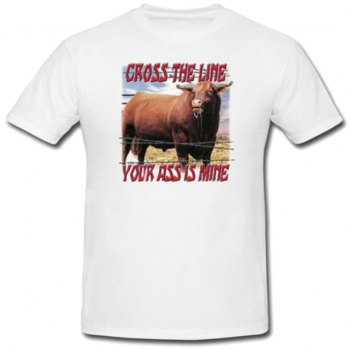 Cross The Line Tee
