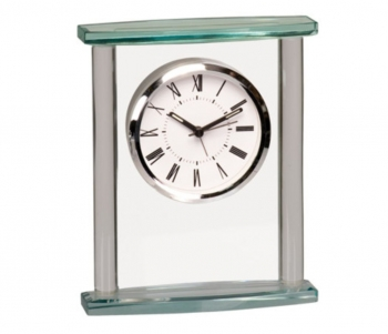 Glass Mantle Clock