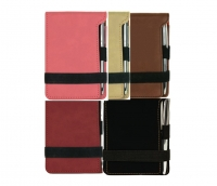 Leatherette Notepad Gifts Set