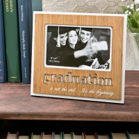 Graduation  Frame with Bamboo Finish