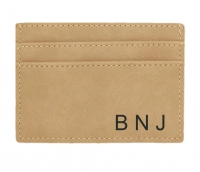 Light Brown Wallet Money Clip