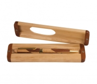 Wide Maple Rosewood Pen Gift Set